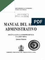 BELM-1666(Manual Del Acto Administrativo -Berrocal)