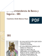 La Superintendencia de Banca y Seguros - SBS (1)