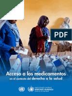 OHCHR, Acceso a Los Medicamentos, 2015