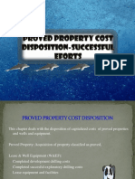 Temu 8 (Proved Property Cost Disposition-successful Eforts)