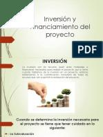 Inversión y Financiamiento Del Proyecto
