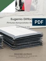 Eugenio Dittborn - Pinturas Aeropostales Recientes