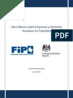 Libro Blanco Empresas y DDHH en Colombia