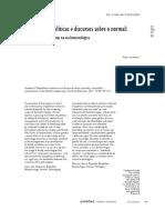 GAUDENZI, Paula. Mutações Biopolíticas e Discursos Sobre o Normal