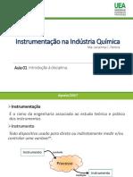 A01 - Instrumentação Na Indústria Química
