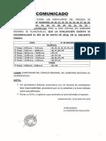 639262 Comunicado de Evaluacion Escrita