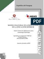 Criterios de Calidad Kinesiologia y Fisioterapia