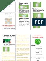 Leaflet Cara Membuat Perangkap Nyamuk