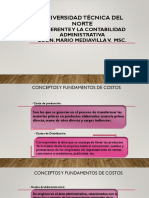 2. Definicion y Fundamentos de Costos