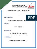 Adrian Guerra Caso Clinico