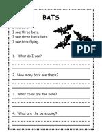 1 St Grade Halloween Reading Worksheet