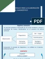 Pautas Generales Para El Diagnóstico Del Escenario de Práctica.