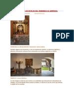 Infografía de Estilos Del Romanico Al Barroco
