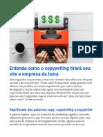 Entenda como o copywriting tirará seu site e empresa da lama