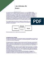 Modelo de Un Sistema de Comunicaciones