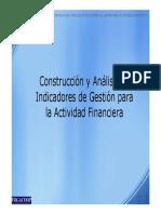 Construcción y Análisis de Indicadores de Gestión