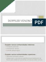 Doppler Venoso