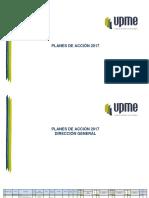 Plan de Acción 2017