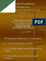 5. Gestión Financiera Dr. Arana Mendoza