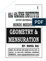 Geometry Mensuration Notes in Hindi(Ssc Forum)