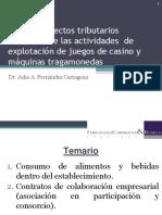 Aspectos Tributarios Derivados de la Explotación de Casinos y Máquinas Tragamonedas en el Perú