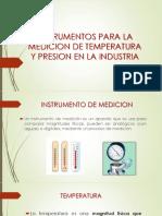 TEMA 5 ,Instrumentos de Presion y Temperatura.