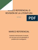 Marco Referencial o Revisión de La Literatura
