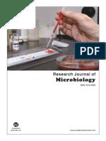Biodegradación de Cafína Por Pseudomanas