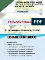 Educación y Pedagogia