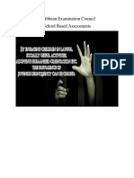 Social Studies SBA 2018