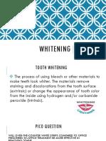 whitening ppt