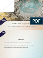 Ergonomic Workstation Presentation
