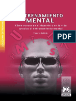Entrenamiento Mental Psicologia Deportiva Spanish Edition