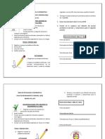 plan de mejoramiento  8°2, 8°1, 8°4  I periodo 2018