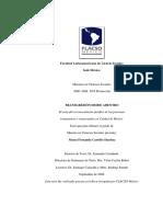 T. Transgresión Desde Adentro. El Caso Del Reconocimiento Jurídico de Las Personas Transgénero y Transexuales en Ciudad de México. María Fernanda Carrillo Sánchez