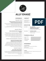 ally ehasz resume may 28th