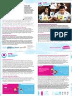 Infosheet Manajemen Kebersihan Menstruasi (MKM) 2018