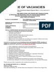 Notice of Vacancies (Calasiao) Up to June 04