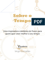 Sobre o Tempo eBook