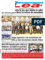Periódico Lea Miércoles 30 de Mayo Del 2018