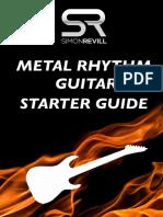 Simon Revill - Metal Rhythm Guitar Starter Guide
