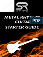 Simon Revill - Metal Rhythm Guitar Starter Guide