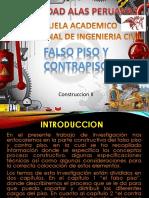 Expo Falso Piso y Contrapiso