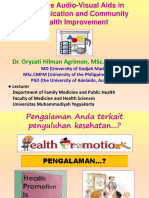 The Role of Audiovisual Aids _dr.oryzati_Oct2015
