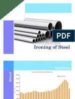 Ironing of Steel