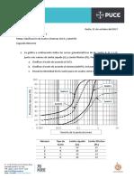 Deber Mecánica de Suelos 1 - Clasificación SUCS y AASHTO