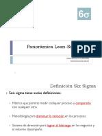 01 Panorámica Lean-Six Sigma