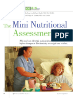The Mini Nutritional Assessment