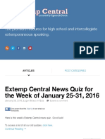 Extemp Central jan 25-31