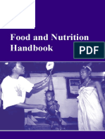 Food and Nutrition Handbook